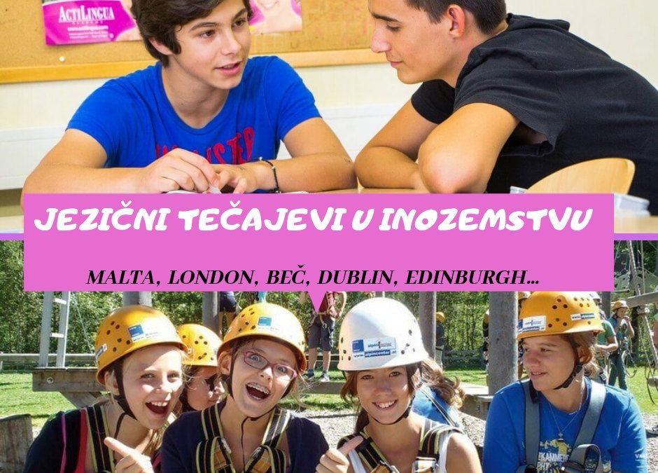 Usavršite svoj engleski ili njemački jezik – ljetne škole engleskog i njemačkog u inozemstvu za djecu i odrasle