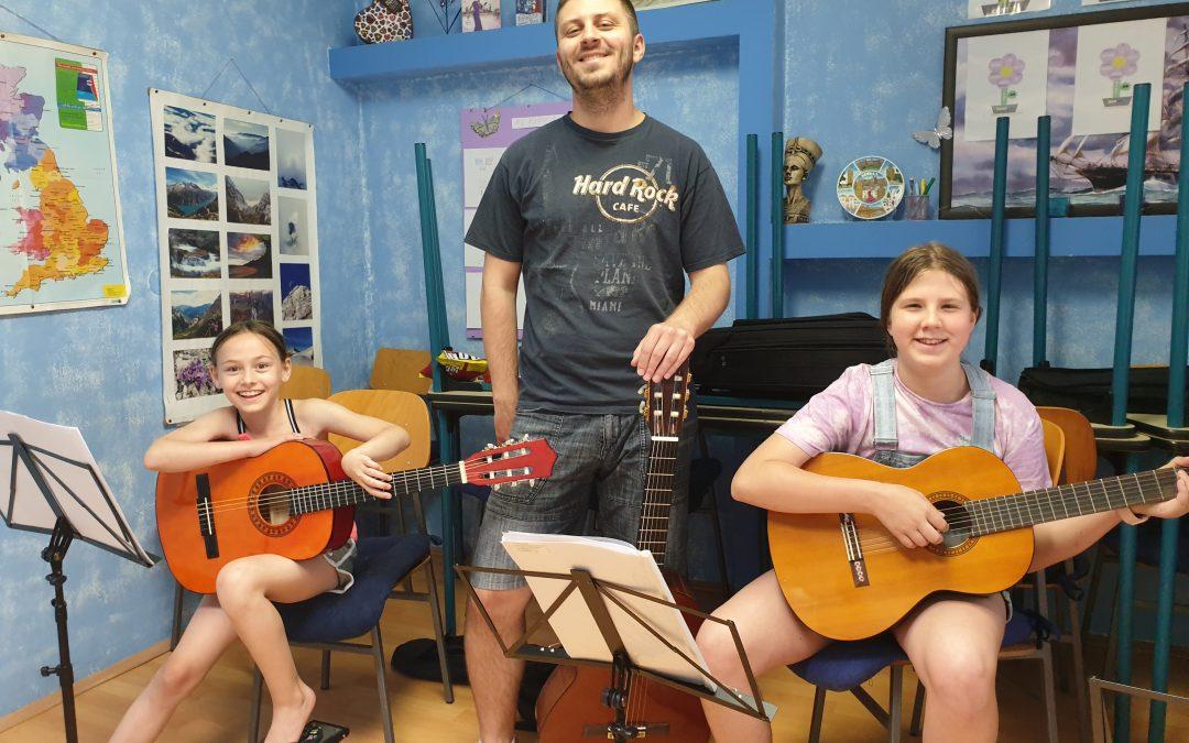 Ljetna škola gitare u Čakovcu i Prelogu – za djecu i odrasle!