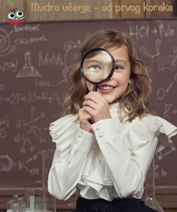 UZLET U MUDRO UČENJE – program Škole brzog čitanja i mudrog učenja za naše najmlađe!